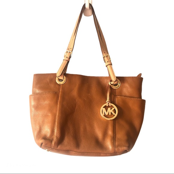 ❌SOLD❌Michael Kors Small Tan Leather Tote
